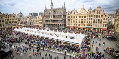 Grote Markt Van Brussel Stad Brussel