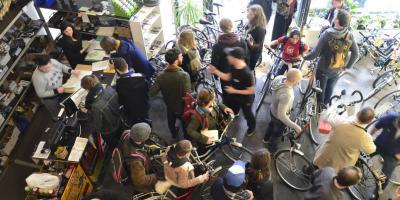 Tweedehands fietsbeurs