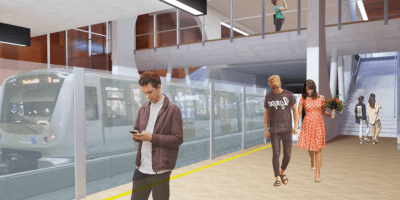Infovergadering. Nieuw metrostation Toots Thielemans