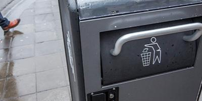 Slimme vuilnisbakken