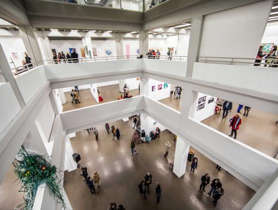 Carte de Visite ARTopenKUNST. Oproep aan plastische kunstenaars