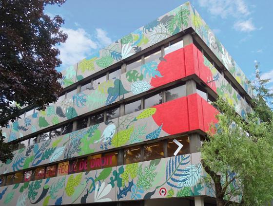Street art ULB - Gola Hundun
