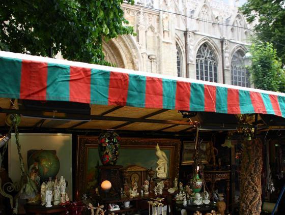 Oldtimers op de Zavelmarkt