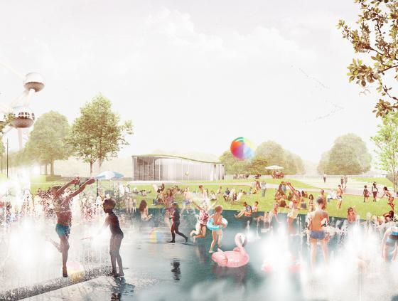 Nieuwe sportpark op de Heizel