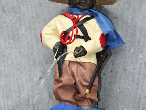 Manneken-Pis en Cuba