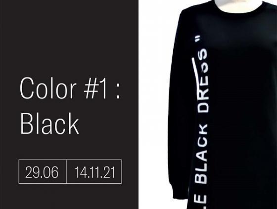 Tentoonstelling. Color#1 Black