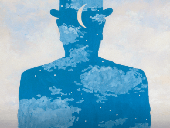 Magritte - Atomium meets Surrealism