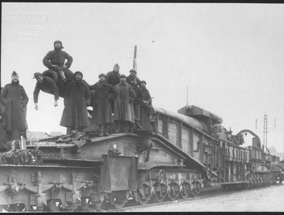 Brussel november 1918