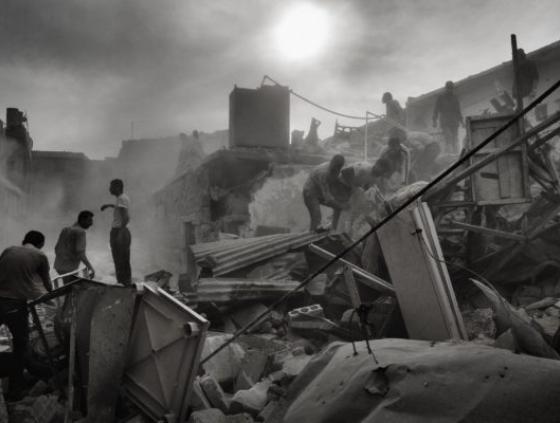 Syrië, Aleppo, 2013 © Stanley Greene / NOOR Images