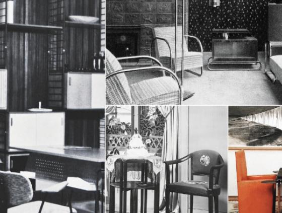 Tentoonstelling. Spaces - Interior design evolution