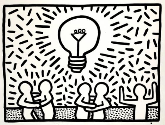 Tentoonstelling. Keith Haring