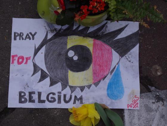 Herdenking van de aanslagen van 22 maart 2016