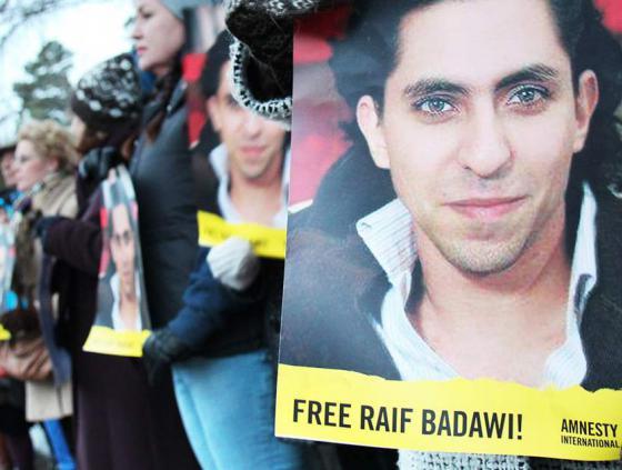 Sleutelactie voor Raif Badawi