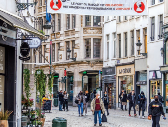 Maatregelen Stad Brussel tegen coronavirus