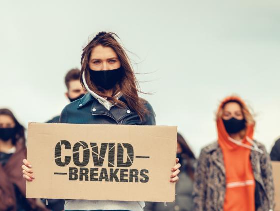 Campagne 'Covid Breakers' voor jongeren