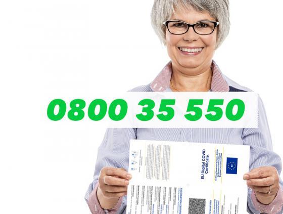 Covid Safe Ticket: hulp voor senioren