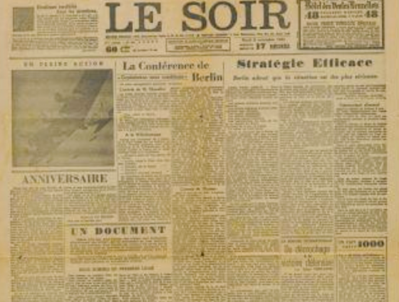 In november 1943 kwam de 'Valse Le Soir' uit