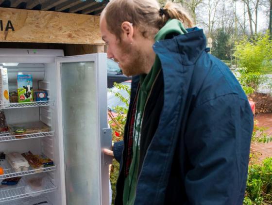 Oproep kandidaten 'Solidaire koelkasten'