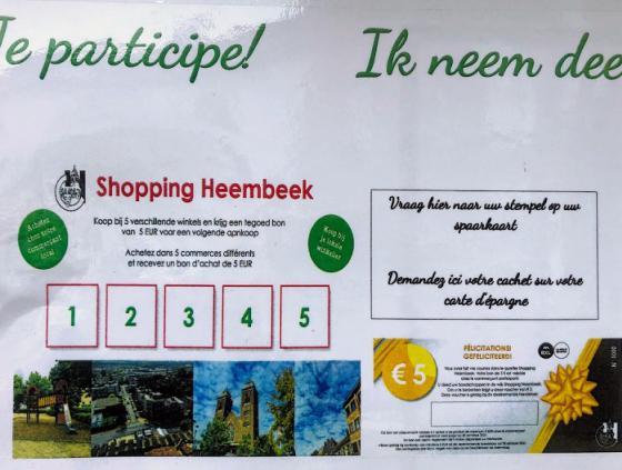 Shoppingactie in Neder-Over-Heembeek
