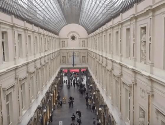Documentaire over geschiedenis Sint-Hubertusgalerijen