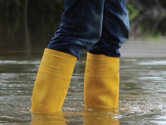 Strijd tegen overstromingen in Laken
