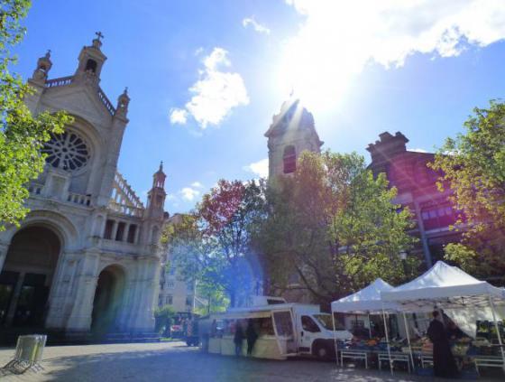 Een markt zonder afval op het Sint-Katelijneplein?