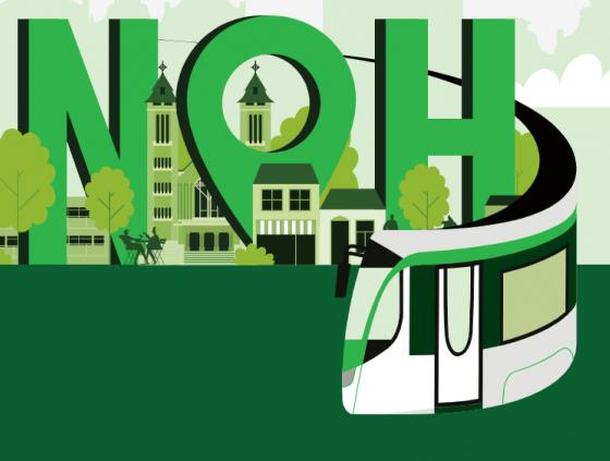 Nieuwe tram in Neder-Over-Heembeek