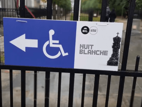 Toegankelijkheidsprijs voor Nuit Blanche