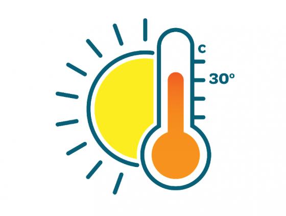 Ozon- en hitteplan geactiveerd