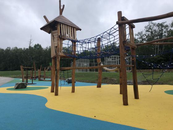 Nieuw park in Neder-Over-Heembeek