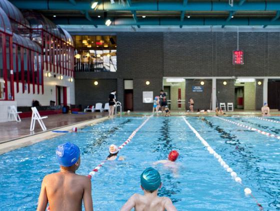 Heropening zwembaden Stad Brussel