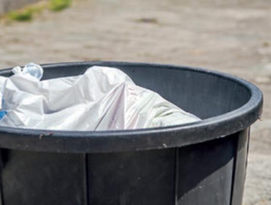 Gratis vuilnisbakken