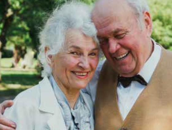 Hernieuwing huwelijksgeloften voor senioren
