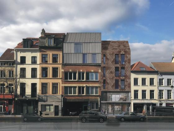 Project 'Hoogstraat 275' (Marollen)