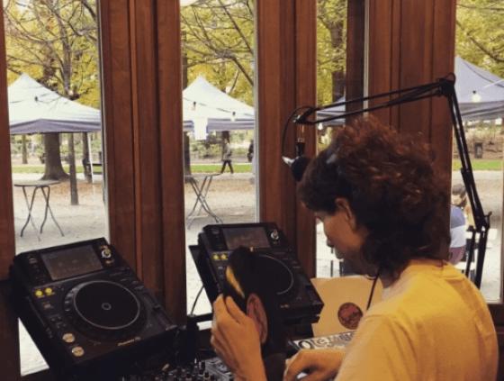 Webradio in het Warandepark
