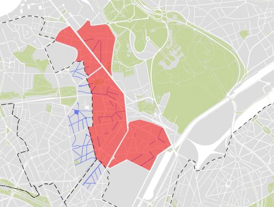 Nieuwe zones 30 in Laken