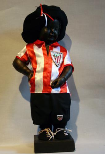 Manneken-Pis - peña del Athletic Club Bilbao