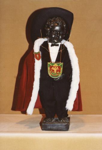 Manneken-Pis in de Orde van de Ridders van Sint-Michiel