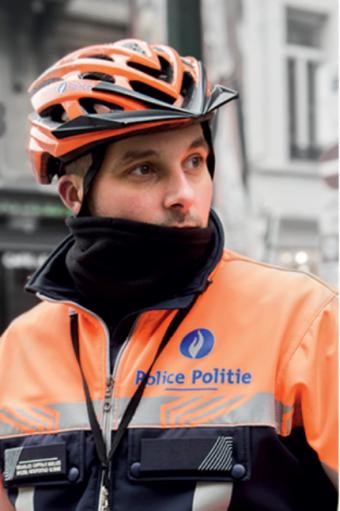 Infodag politie Brussel Hoofstad Elsene