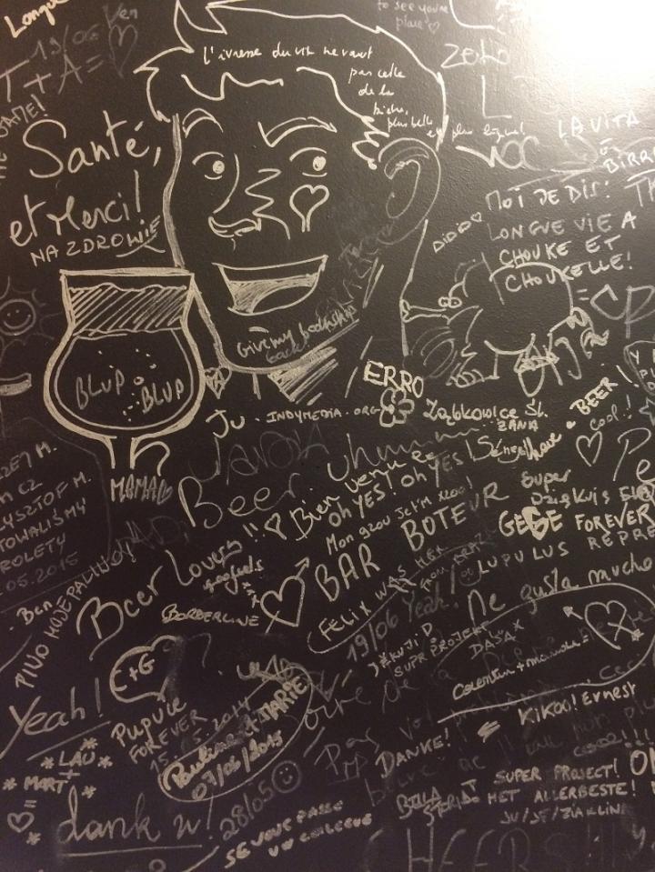 Graffiti in toiletten