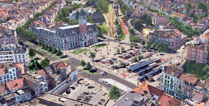 Werken Emile Bockstaelplein en omgeving