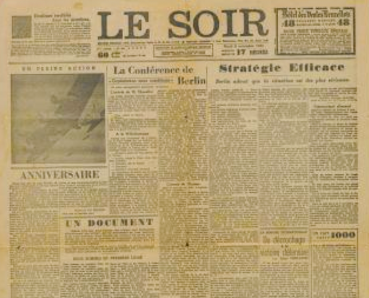In november 1943 kwam de 'Valse Le Soir' uit