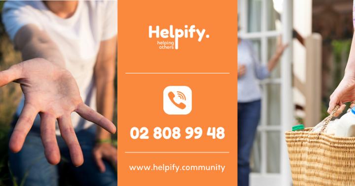 Helpify Community: lokaal solidariteitsnetwerk