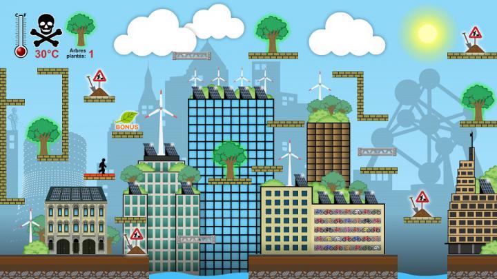 Ecorun, het videospel van het Klimaatplan