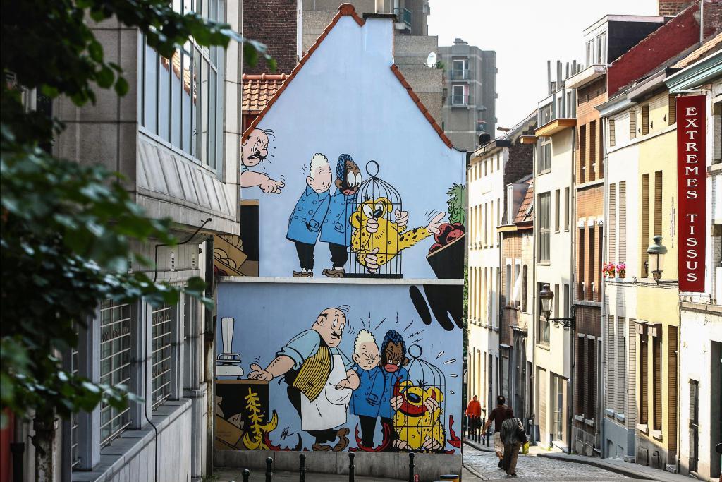 Blondie en Blinkie (Jijé) - Kapucijnenstraat
