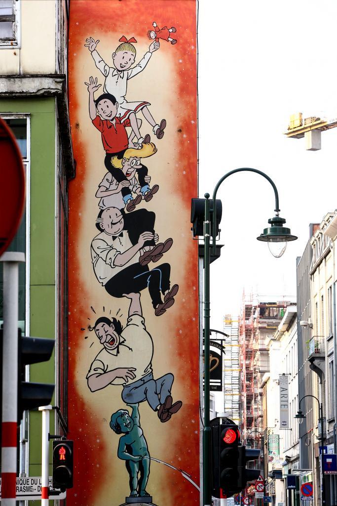 Suske en Wiske (Vandersteen) - Lakensestraat