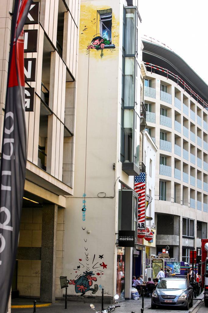 Guust Flater (Franquin) - Schildknaapstraat