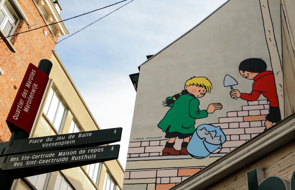 Kwik en Flupke (Hergé) - Ons-Heerstraat 19