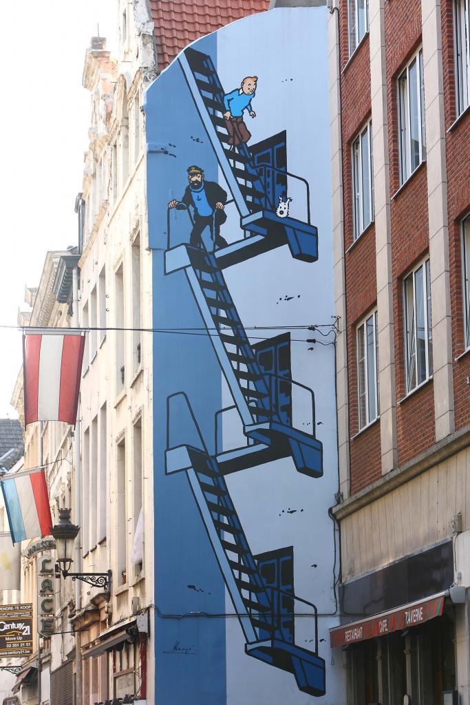 Kuifje (Hergé) - Stoofstraat