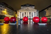 Brussels by Lights - Muntplein - klik om te vergroten